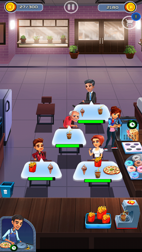Cooking Cafe - Food Chef apkslow screenshots 7
