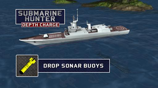Submarine Hunter Depth Charge screenshots 2