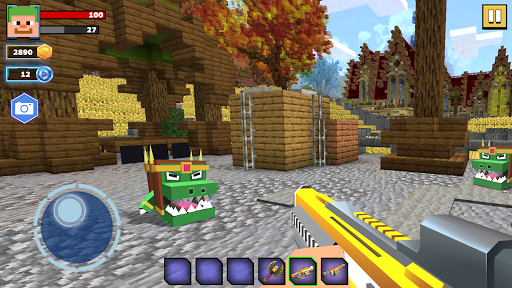 Fire Craft: 3D Pixel World android2mod screenshots 6
