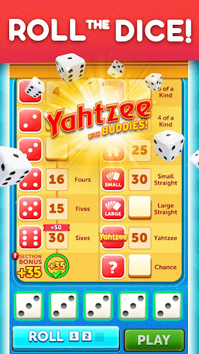 YAHTZEEu00ae With Buddies Dice Game 8.0.2 screenshots 1