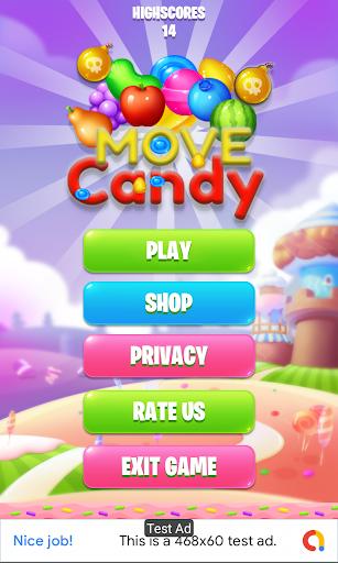 candy move screenshot 1