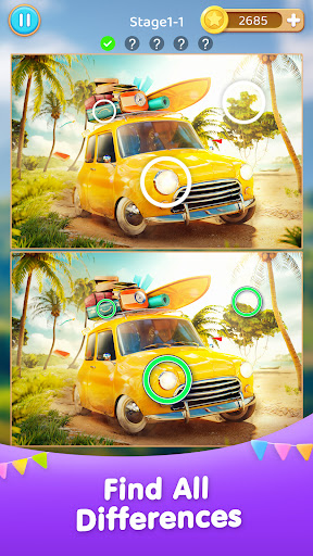 Differences Journey - Find the Difference Games  screenshots 1