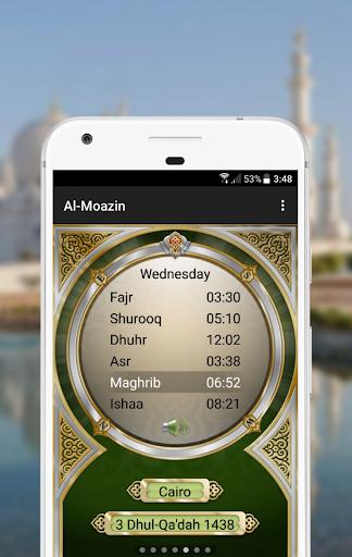 Al-Moazin Lite (Prayer Times) apktram screenshots 1