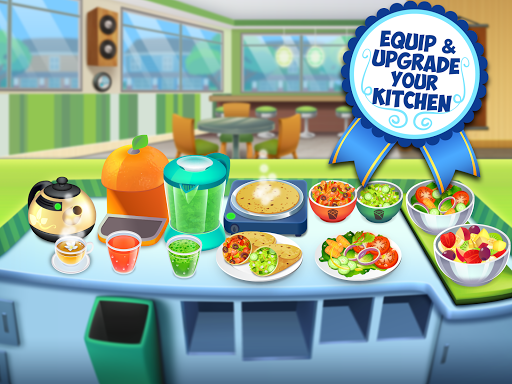 My Salad Bar - Healthy Food Shop Manager apkslow screenshots 9