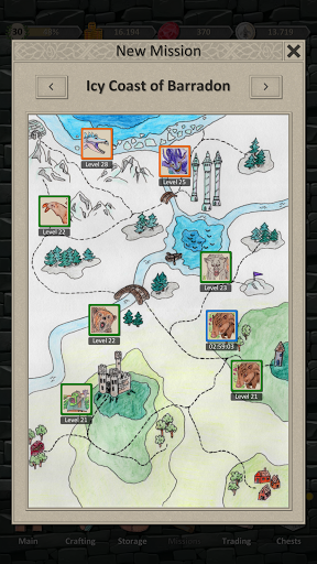 Heroes and Merchants RPG apkslow screenshots 4