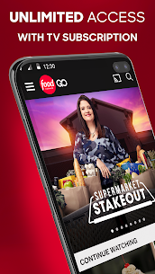 Food Network GO – Watch with TV Subscription Apk Download 2021 3