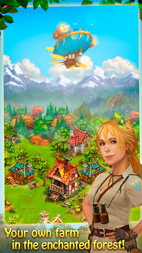 Charm Farm: Village Games. Magic Forest Adventure. modiapk screenshots 1