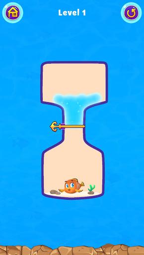 Fish Pin - Water Puzzle & Pull Pin Puzzle apktram screenshots 9
