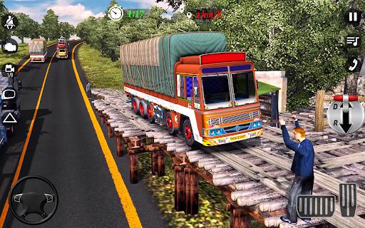 City Cargo Truck Driving 2021: Euro Truck Sim  screenshots 10