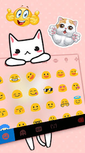 Cat Love Keyboard Theme