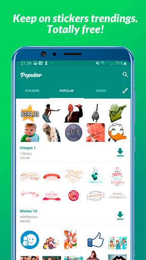 All Stickers - WAStickerApps  screenshots 2