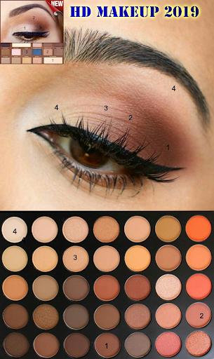 HD makeup 2019 (New styles)  Screenshots 7