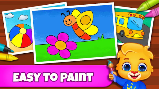 Coloring Games: Coloring Book, Painting, Glow Draw  screenshots 1