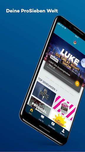SAT.1 - Kostenloses Live TV und Mediathek  screenshots 1