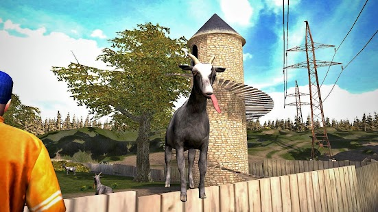 Goat Simulator Free Screenshot