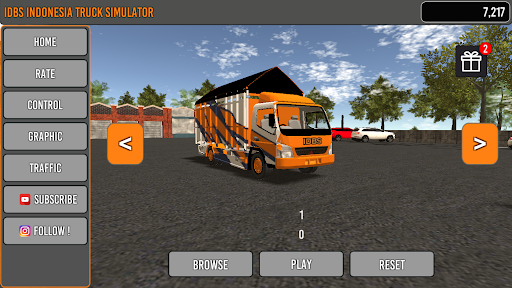 IDBS Indonesia Truck Simulator apkpoly screenshots 1
