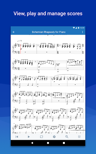 MuseScore: view and play sheet music android2mod screenshots 8