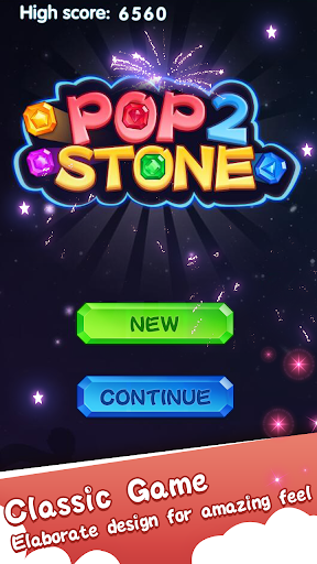 Pop Stone 2 - 2021 Free Match 3 screenshots 1