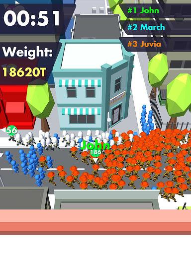 Crowd Buffet - Fun Arcade .io Eating Battle Royale android2mod screenshots 7