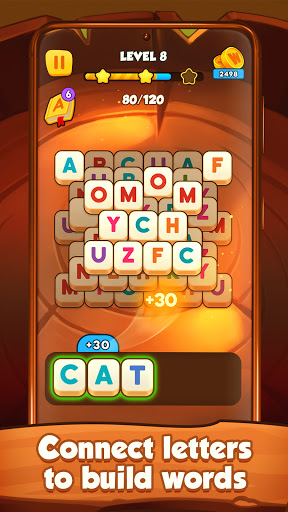 Words Mahjong - Word search and word connect game  screenshots 2