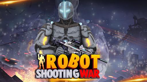 Télécharger Gratuit Jeux de guerre de tir : Robots Battle Simulator APK MOD (Astuce)width=