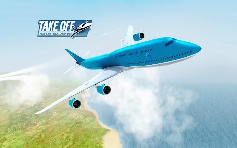 Download Take Off The Flight Simulator (MOD, Money/Fuel/Fast Level Up) 8