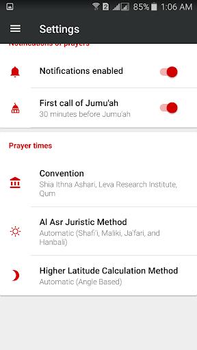 Prayer Timings Muslim Salatuk  Screenshots 4