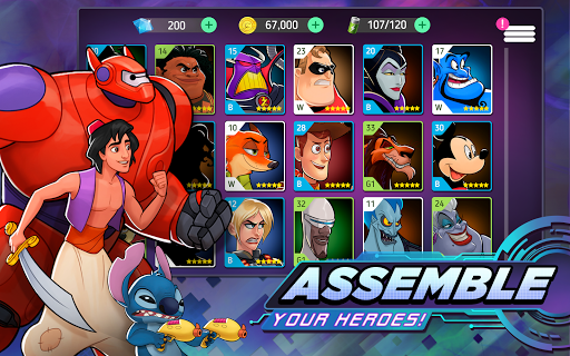 Disney Heroes: Battle Mode 3.2.10 screenshots 3
