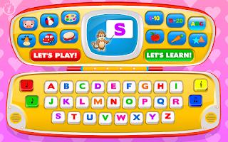 Kids Toy Phone Learning Games - Magic Laptop Lite