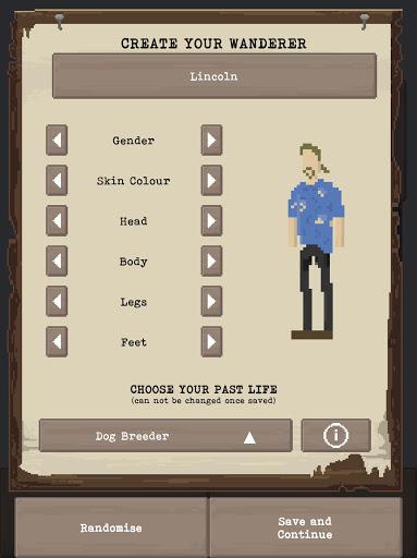 u2622 The Wanderer - Post-Apocalyptic RPG Survival  screenshots 8