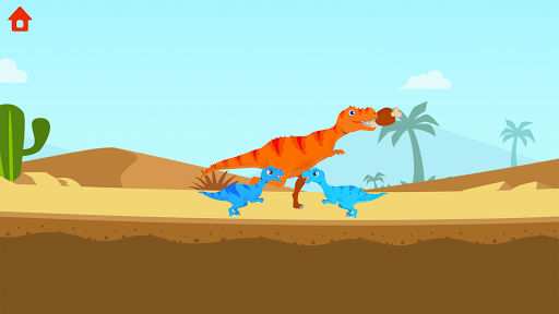 Dinosaur Island: T-Rex Games for kids in jurassic 1.0.6 screenshots 2