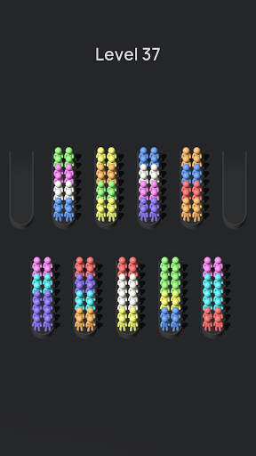 Crowd Sort - Color Sort & Fill  screenshots 19