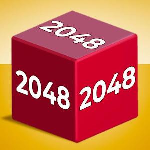 Chain Cube: 2048 3D merge game