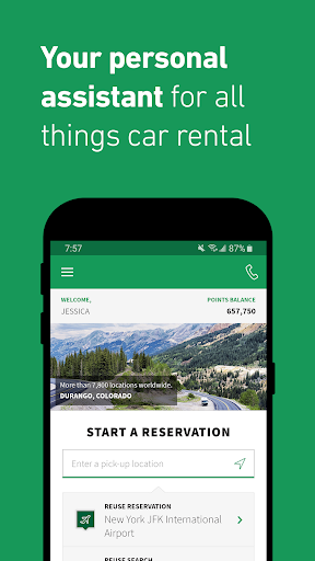 Enterprise Rent-A-Car - Car Rental 4.0.0.489 Screenshots 1
