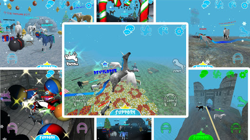 hill cliff horse - online screenshot 3