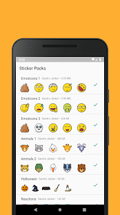 Emoticons Sticker Pack for WhatsApp Screenshot