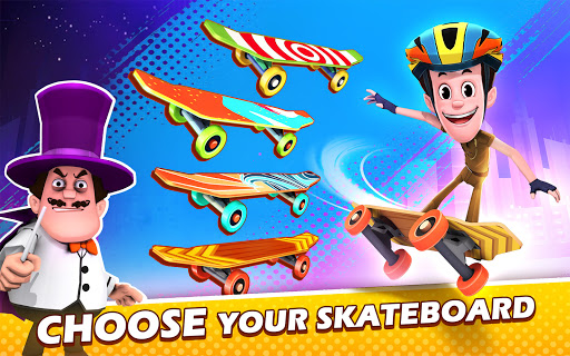 Smaashhing Simmba - Skateboard Rush android2mod screenshots 23