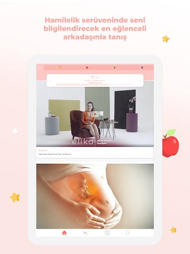 Elika Hamile - Hamilelik Takibi, Gebelik Rehberi modavailable screenshots 9