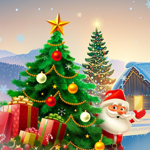 Baixar Christmas Hidden Object: Xmas Tree Magic para Android