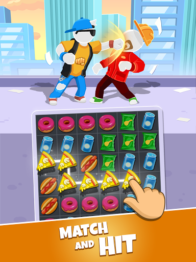 Match Hit - Puzzle Fighter  screenshots 15