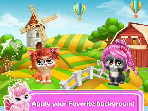 Pet Kitty Hair Salon Hairstyle Makeover  screenshots 5