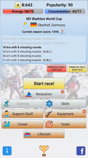 Biathlon Manager 2020  screenshots 1