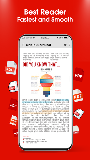 PDF Reader 2021 u2013 PDF Viewer, Scanner & Converter android2mod screenshots 8