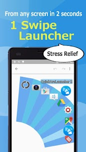 Quick Arc Launcher 2 ( Smart One Swipe Launcher ) 2.35.0 Mod + APK + Data UPDATED 1