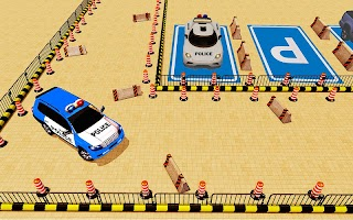Super Police Car Parking 3D : Modern Car parking