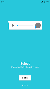 Transcriber for WhatsApp – Audio To Text For Whatsapp 1