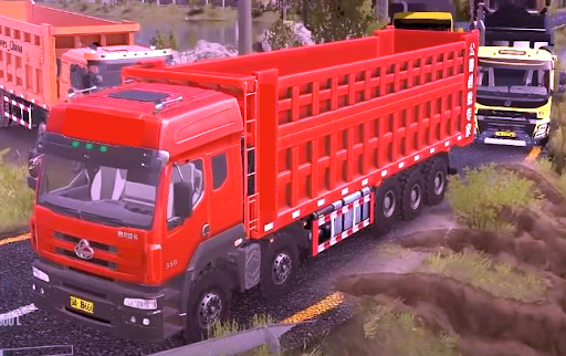Truck Simulator Indonesia : Livery Truck Bussid android2mod screenshots 1