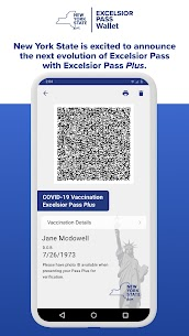 NYS Excelsior Pass Wallet Apk 3