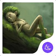 Forest-APUS Launcher theme
