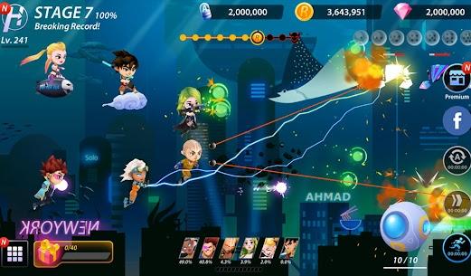 Idle Hero Z Mod Apk- Summon & Merge Cyberpunk (Unlimited Gold) 6